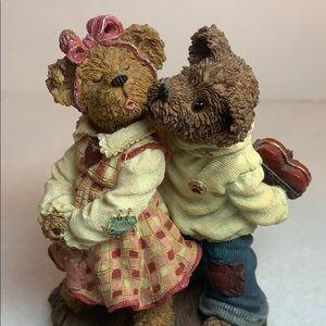 VNTG Boyds Bears - Rhett and Scarlet Kisses 2002